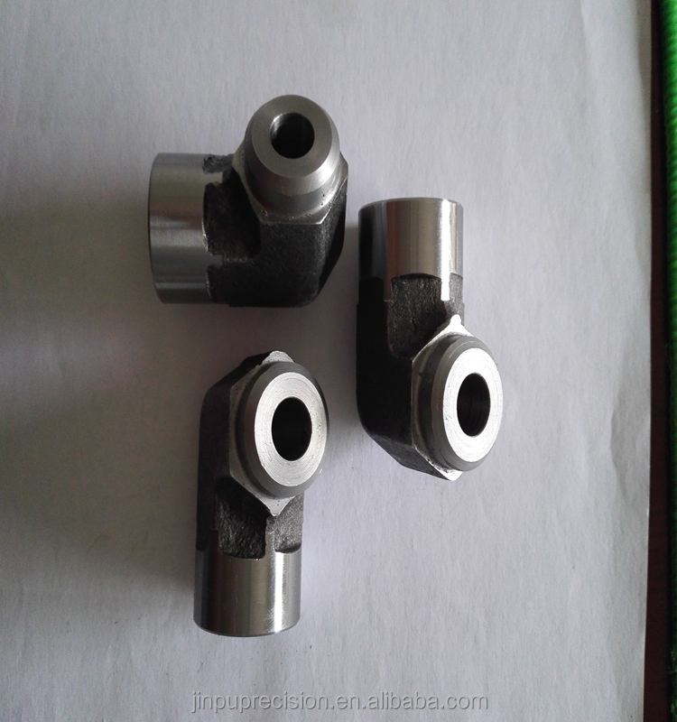 China factory made L S type hydraulic fitting EGE-NPT swivel connector with NPT thread