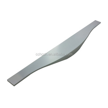 Funiture Cabinet Hardware Aluminum Handle With Stylish Curvy Look