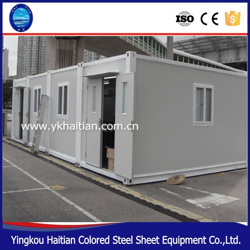 comfortable living container living units prefab container house cabin modular