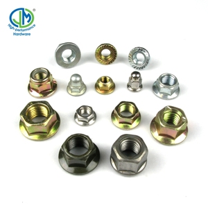 M30 M2.5 M7 DIN6923 Class 6 Steel Serrated Hexagon Flange Lock Nut