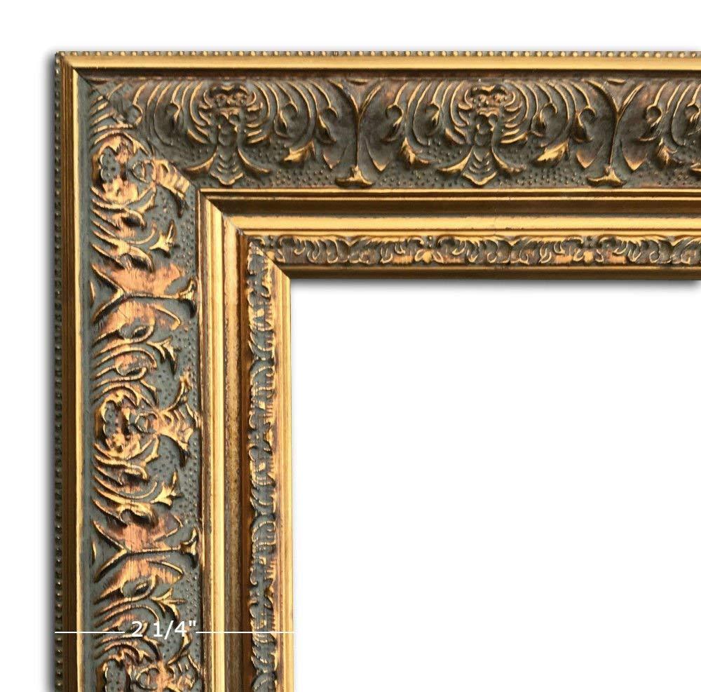 """West Frames Ella Ornate Embossed Wood Picture Frame Antique Gold (20"""" x 30"""")"""