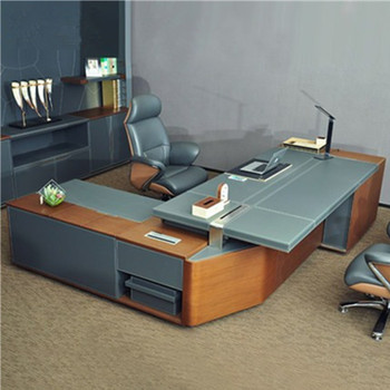 top-rated modern executive desk luxury office furniture W68 CEO boss table desk foshan office furniture supplier