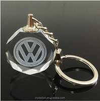 Hot Sale Customized Image Crystal Ornament Chains Women Craft Supplies Gifts 24 styles Souvenir Car Logo Keychain Key Rings