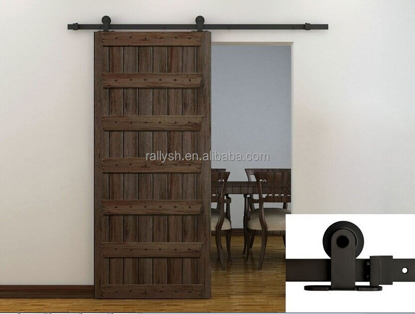 Rustica Barn Doors Wood Exterior Doors Quiet Sliding Doors Hardware