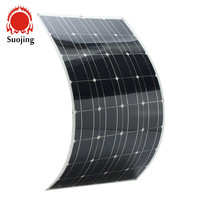 High efficiency flexible solar panel 100W 18V mono flexible thin film solar panel manufacturers in china