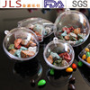Clear plastic round or heart shape ball for food packaging boxes