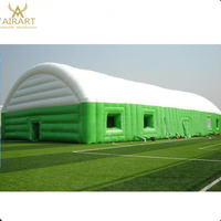 Commercial inflatable tennis dome event tent inflatable sport dome