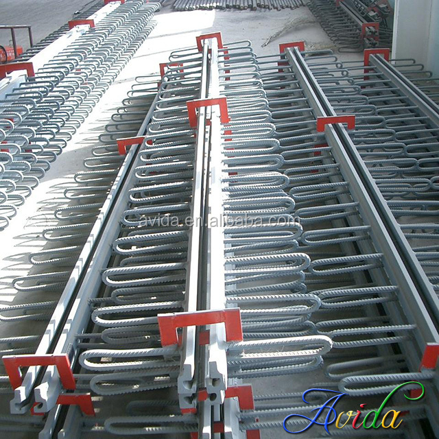 factory fashioned steel modular expansion joints