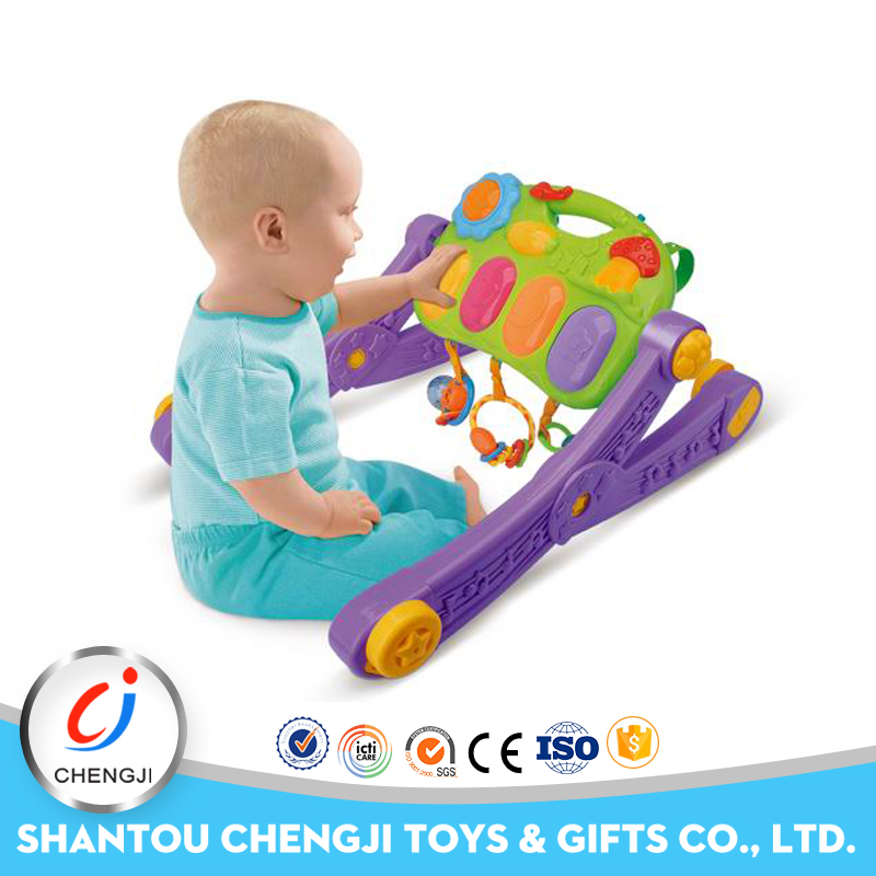 New item remote control musical baby walker 4 in 1