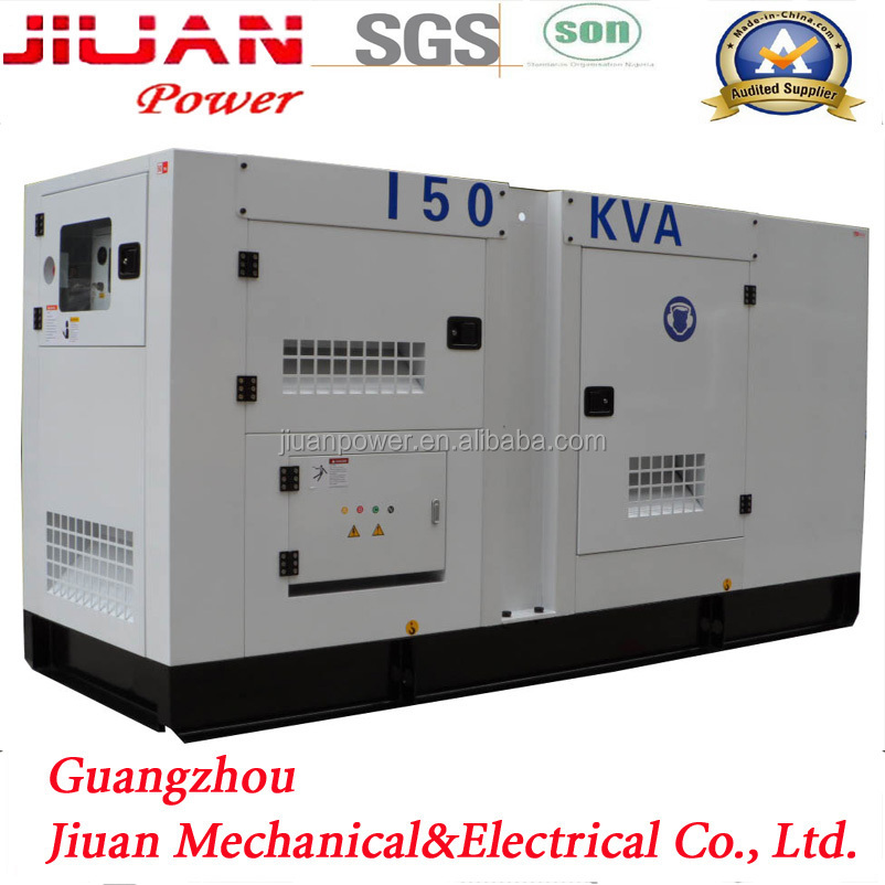 Guangzhou Stock Powered by UK Engine 1106A-70TAG2 Electric Power Diesel Generator Price 150KVA