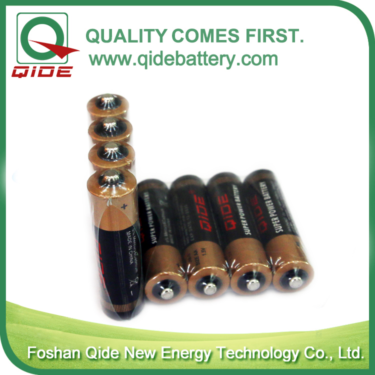 4 pieces packing AA battery
