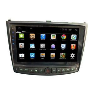 Newest 10.2inch Multi-touch screen Android7.1 car dvd player for Lexus IS200 IS250 IS300 gps navigation