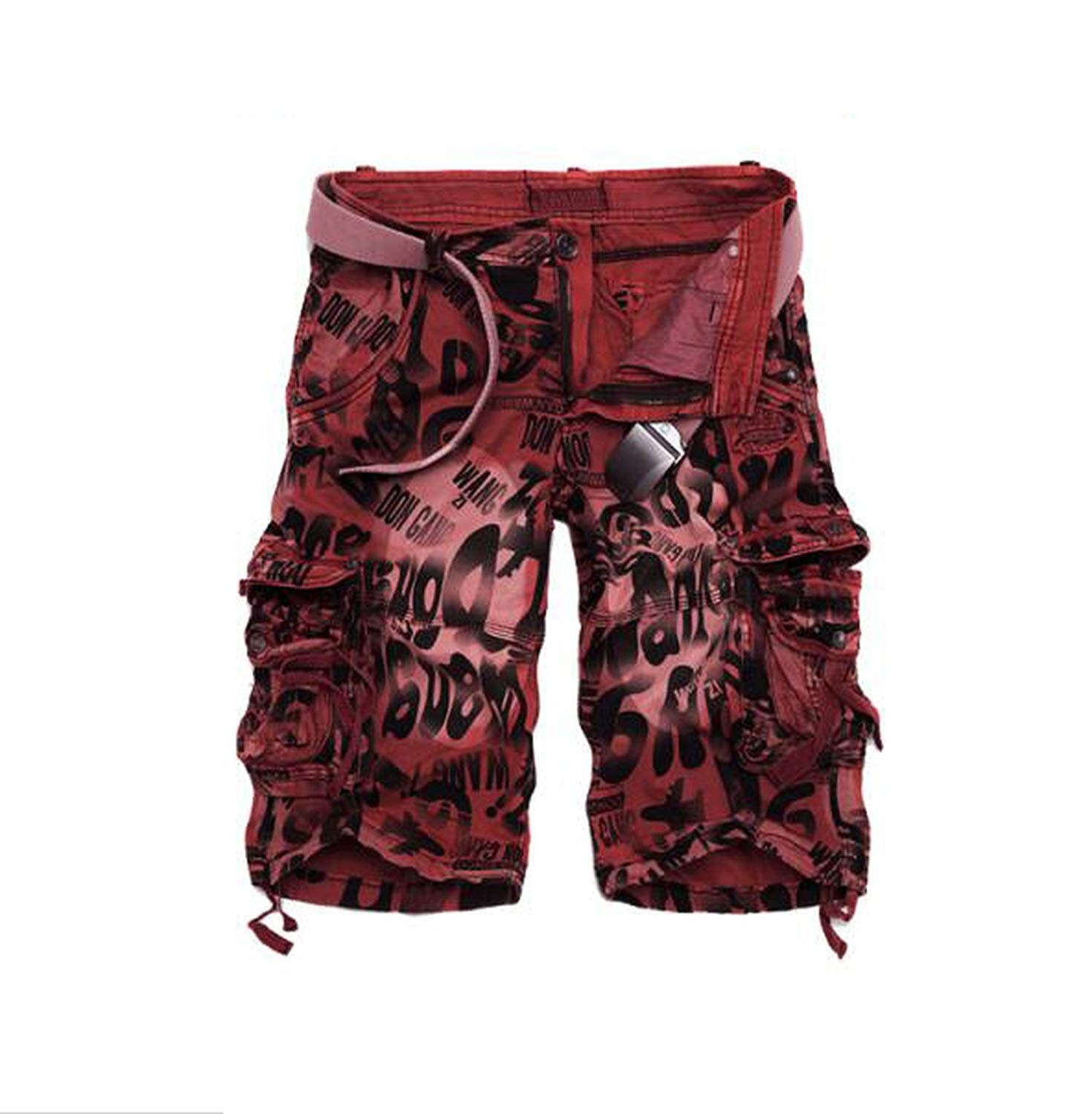 Bansca 2018 Summer New Big Size 29-40 Loose Mens Military Cargo Shorts Camouflage Army Shorts