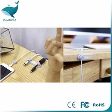 Wooden cable clip with phone holder, Cable Clips Organizer, charging wire clip