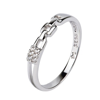 Latest Wedding Ring Designs Delicate Silver Sweet Couple Rings For