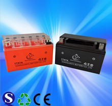 China manufacturer motorcycle battery YTX7A 12v 7ah mf battery for india