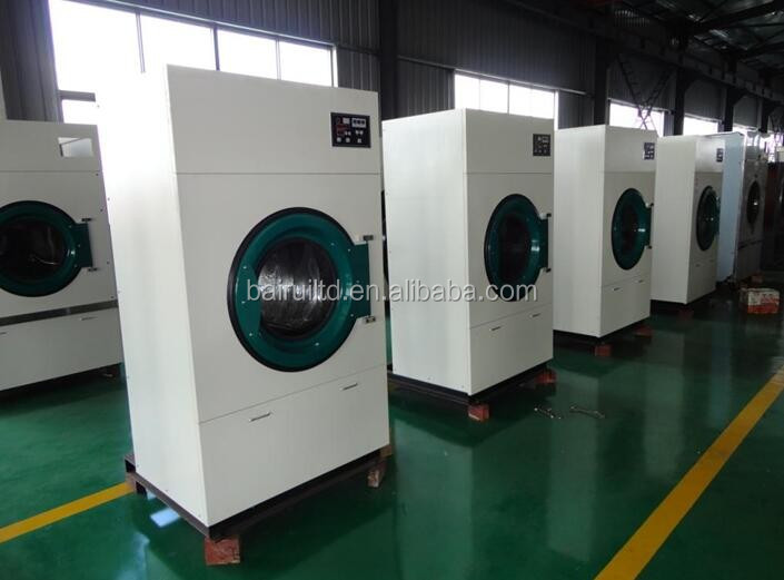 60kg electric heating dryer for laundry shop
