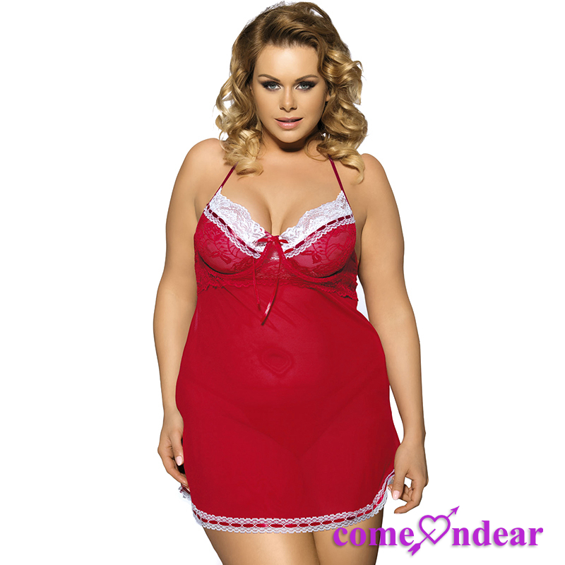 Four Size Wholesale Plus Size Sexy Fat Women China Lingerie Manufacturers