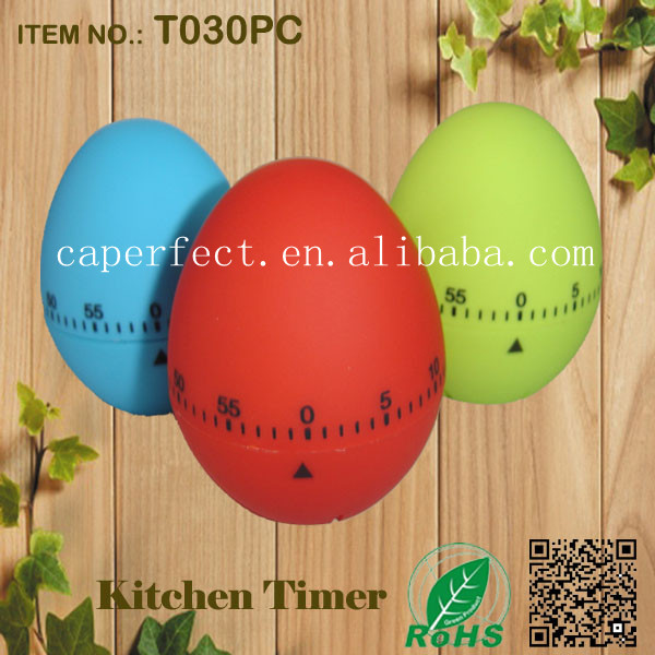 China supplier ROHS approved mechanical kitchen egg timer