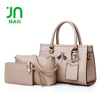 13dd3745d4 Cheap designer handbags set 2018 new design women ladies handbag set ...