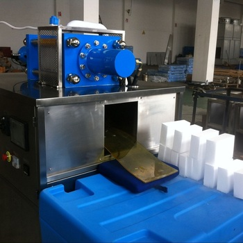 150kgs/hr Block Dry Ice Making Machine for Frozen Fish Transportation