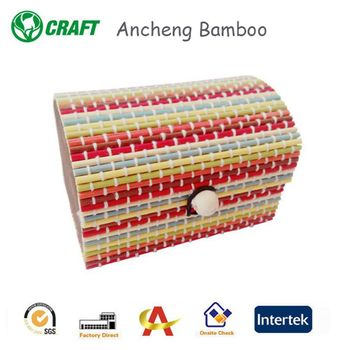handmade bamboo small and big gift box for sale