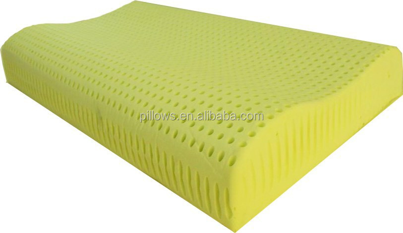 Holed Memory Foam Pillow with Aloe Vera added