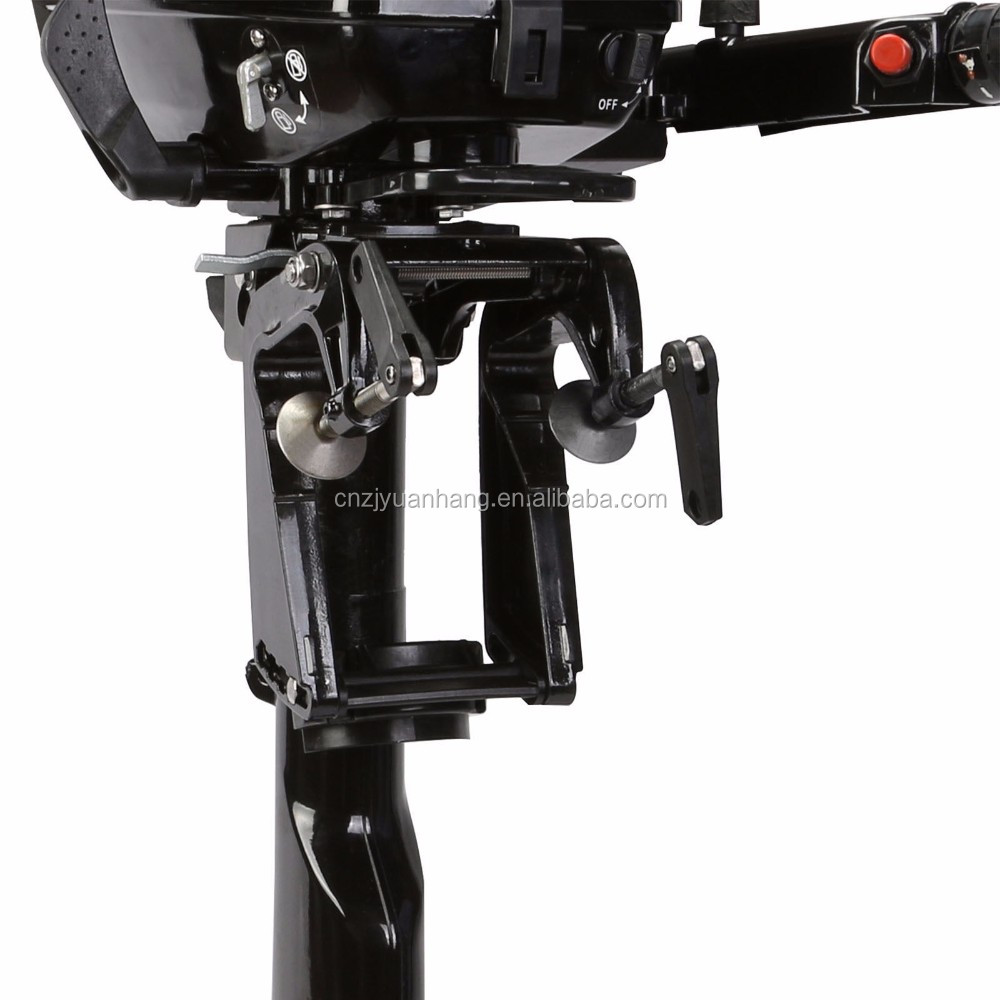 Water cooled 2 stroke 4hp outboard motor engine for boat for Hangkai 3 5 hp outboard motor manual