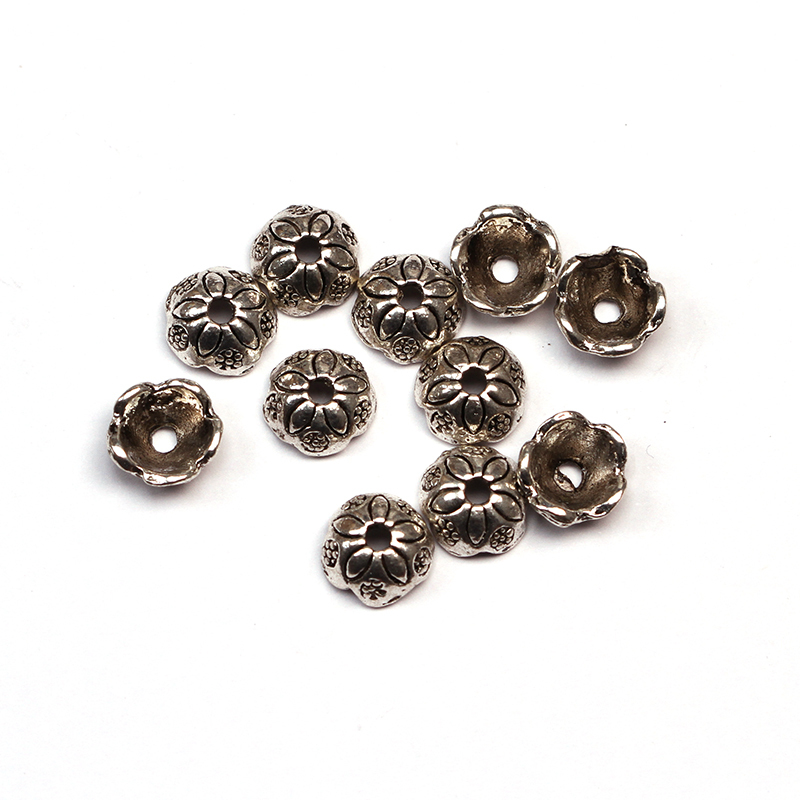 New Jewelry findings end caps/ flower beads caps