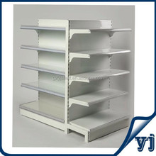 Supermarket layout pharmacy display shelving with supermarket price tag holder, gondola for pharmacy