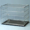 trade assurance zinc folding pet cage with ABS tray China manufacturer