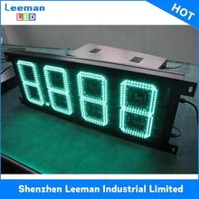 electronic digital shelf edge displays billboard gas oil price station 12volt led car message moving scrolling sign display