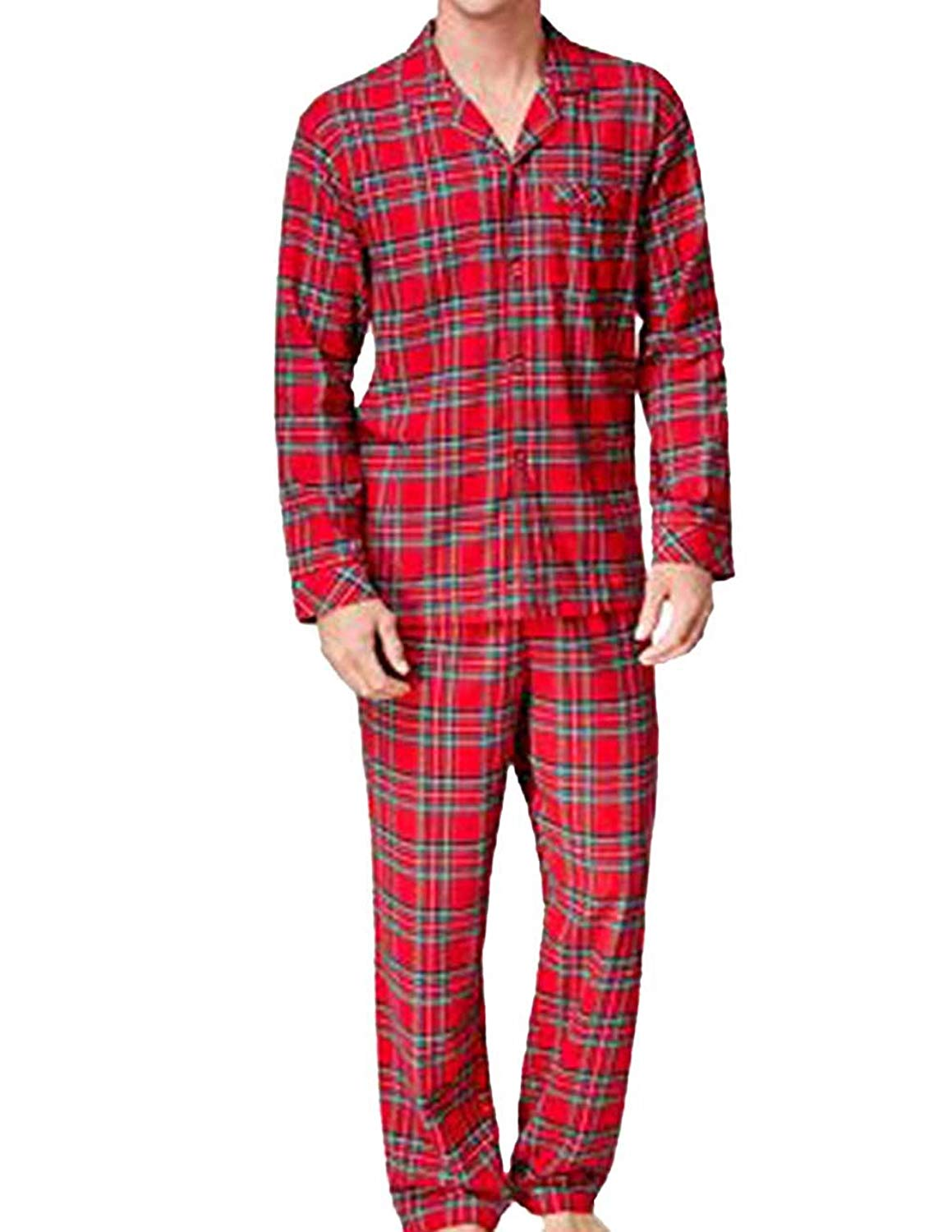 671f7a3c85 Get Quotations · FAMILY PJS-MMG Family Pajamas Family Pajamas Mens Brinkley  Brinkley Plaid S