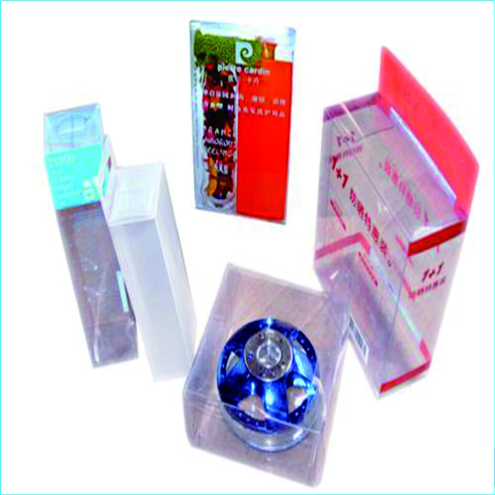 Plastic Transparent Folding Boxes/cartons/cylinders