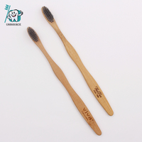 Custom Organic 100%natural Bamboo Toothbrush