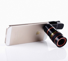Universal 8X Optical Zoom Telescope Camera Mobile Phone Lens For xiaomi redmi mi1 mi2 mi3 mi4 mi4c note s + metal lenses