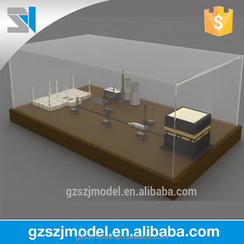 Souvenir gift type Mecca Kaaba model , famous architectural model for  sales, View famous architectural model, SZJ Brand Product Details from  Guangzhou