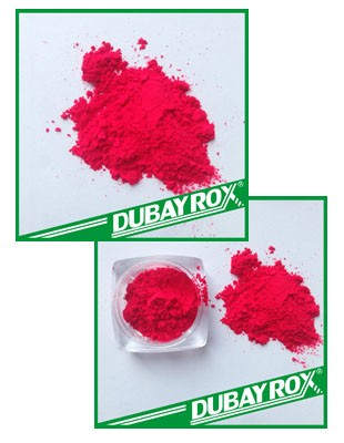 Fluorescent Pigment For 3D Printint Shining Red Pigment Powder
