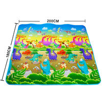 Factory Wholesale New Cheap Baby Kids Foam Play Mat Carpet/Double Sided Baby Crawling Mat For Babies
