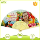 Logo Paper Fan Paper Customized Logo Printed Wedding Craft Paper Hand Fan