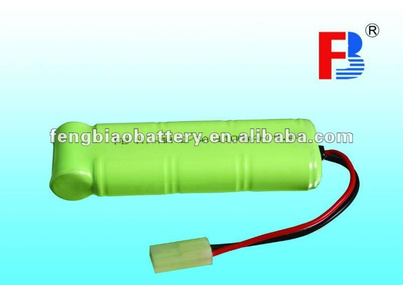 rechargeable batteries Ni-MH 2/3A 1100mAh 8.4V battery pack industrial batteries