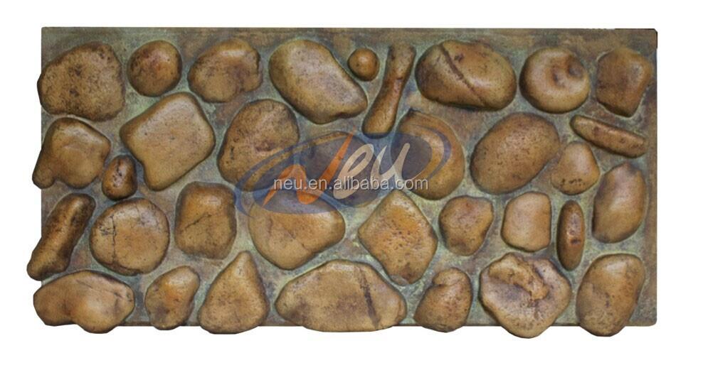 Espuma de la pu de imitaci n de piedra de r o - Paneles de poliuretano imitacion piedra ...