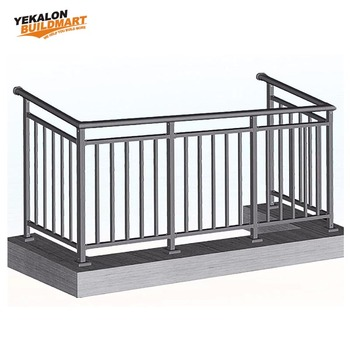Galvanizing Zinc Balustrade Grade 304 Stainless Steel Handrail