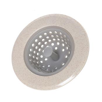 Handle Kitchen Ware Bathroom Sink Strainer Waste Plug Drain Garbage