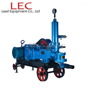 BW100/5 8mm Big aggregate 100L big output 5Mpa high pressure slurry price mud pump