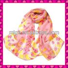 New Design Flower Scarf 2013 (MGMY004-4)