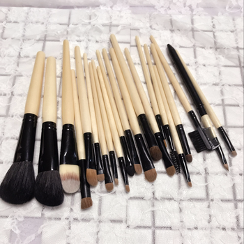 e22232ba446f Top Quality 21pcs Artist Professional Makeup Brush Kit Private Label Bamboo  Cosmetic Makeup Brushes With Case - Buy Cosmetic Brush Set,Pincel ...