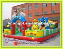 2012 Top sale inflatable fun city,amusement park