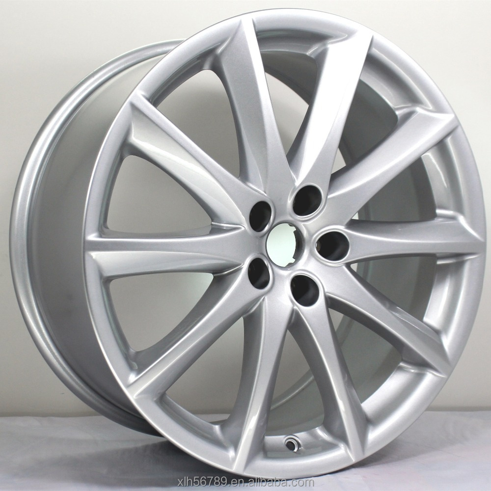 lug aluminum wheel rims jaguar gunmetal