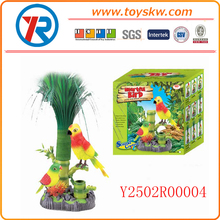 Rockery and grass,sound control parrot and bird funny for child